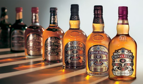 Top 10 best-selling Scotch whisky brands