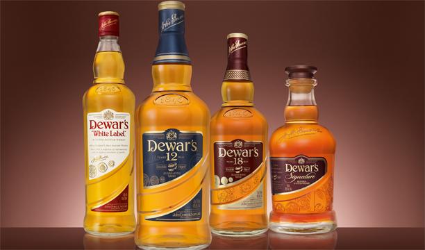 Dewars World largest Scotch whisky brands