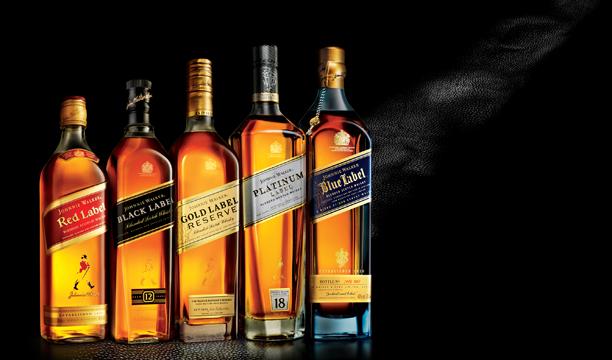 Johnnie-Walker Worlds largest Scotch whisky brands