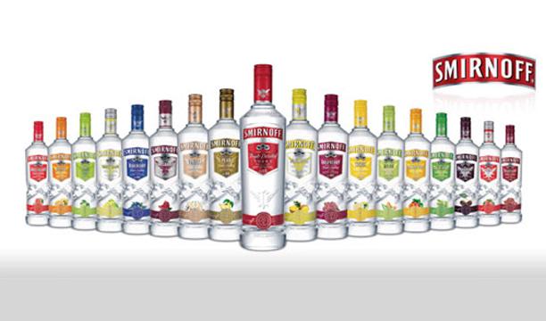 Smirnoff Worlds largest vodka brands