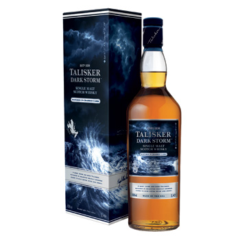 Talisker Dark Storm will be available in travel retail only