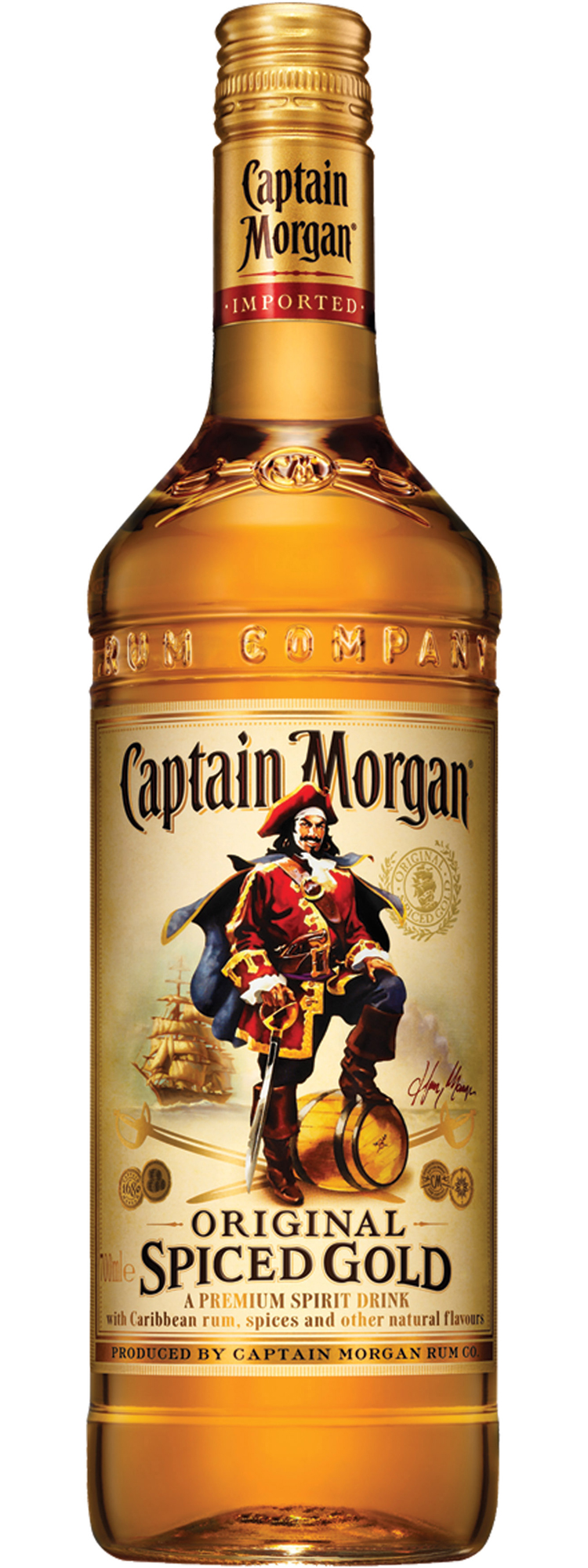 Captain Morgan Spiced Gold Www Imgkid Com The Image