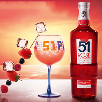 Pernod Ricard's new summer-inspired rose Pastis