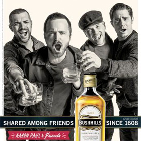 Breaking-Bad-Aaron-Paul-Bushmills