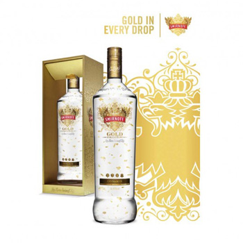 The new release contains 23 carat edible gold leaf and cinnamon flavouring