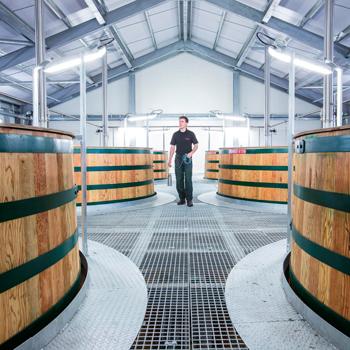 Diageo-Linkwood-distillery-washbacks