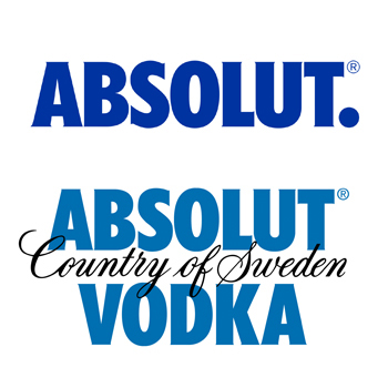 absolut 'so iconic' it drops vodka from logo