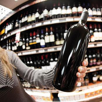 Supermarkets-alcohol