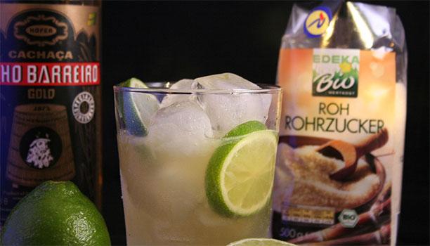 Brazilian cocktails Caipirinha