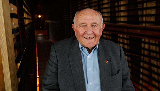 Jimmy Russell, master distiller for Wild Turkey