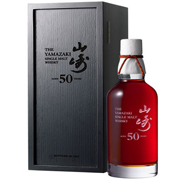 A rare bottle of Yamazaki 50 Year Old – one the world's oldest Japanese single malts – has fetched more than HK$250,000 at auction