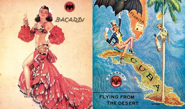 Bacardi-adverts