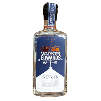 Warner Edwards Gin is one of the UK brands recruited to the British Bottle Company's portfolio