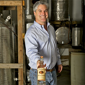 """A civil lawsuit is attempting to force Tito's Handmade Vodka to remove the term """"Handmade"""" from its labels"""