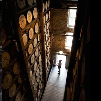 Warehouse-whisky-Kentucky