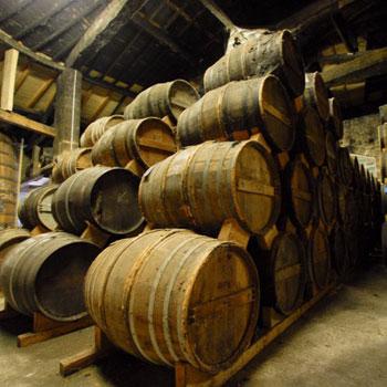 Cognac-barrels