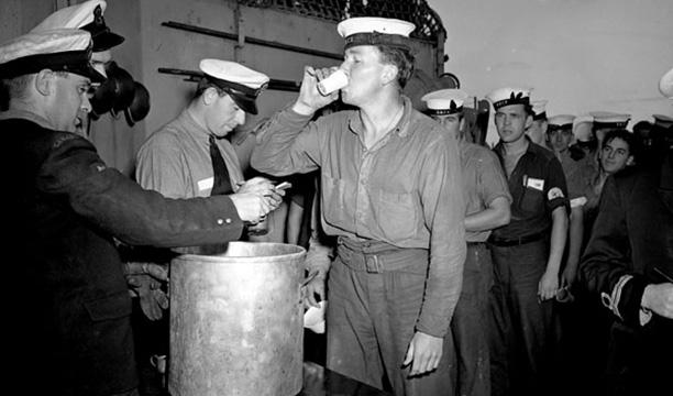 Navy-rum-rations