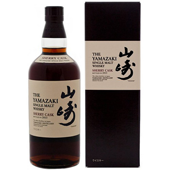 The Yamazaki Single Malt Sherry Cask 2013 has been named the world's best whisky in Jim Murray's Whisky Bible 2015