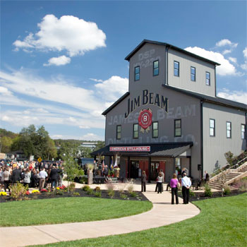 "Jim Beam is to build a ""visitors' experience"" in the heart of Louisville, Kentucky to take advantage of growing Bourbon tourism."