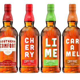 The brand launches Caramel Comfort, showcasing the flavour in modern packaging created for the entire range