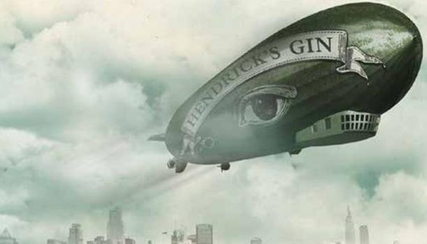 Hendrick's-cucumber-aircraft