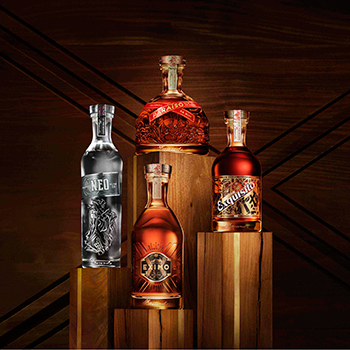 The collection is dedicated to Bacardi founder, Don Facundo Bacardí Massó