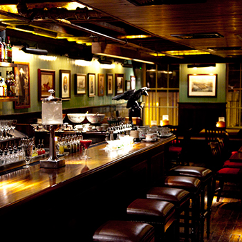 Click through the following pages to discover the top 5 best cocktail pubs in New York