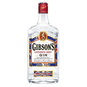 Gibson's London Dry Gin bottle