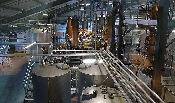 1 Penderyn distillery view