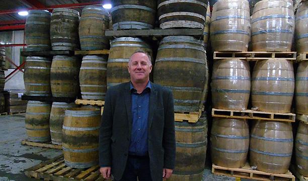 8 Stephen in Penderyn warehouse