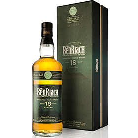18YO Latada joins BenRiach's range of peated wood finished expressions