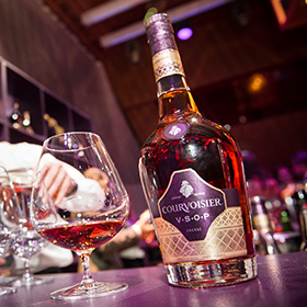 Courvoisier's Toast of Paris Since 1889 campaign encompasses a pack redesign, immersive consumer events and a 360 marketing approach