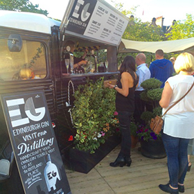 More than 90,000 gin-based drinks were served from Edinburgh Gin's van throughout Edinburgh Festival Fringe.