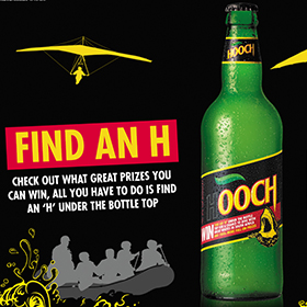 "Hooch's new ""Find an H"" campaign is attempting to target millennial consumers."