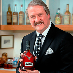 Whyte & Mackay's Richard Paterson is celebrating 45 years in the whisky industry