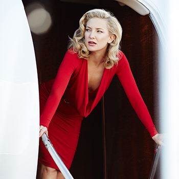 Hollywood actress Kate Hudson is the latest face of Campari's iconic ...