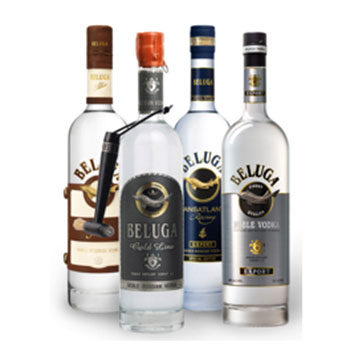 Beluga-Vodka