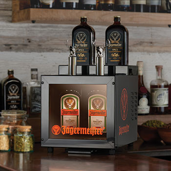 Jägermeister Creates Instant Ice Cold Shot Machine
