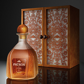 French crystal house Lalique has teamed up with Patrón - the first time its worked with a Tequila suppier