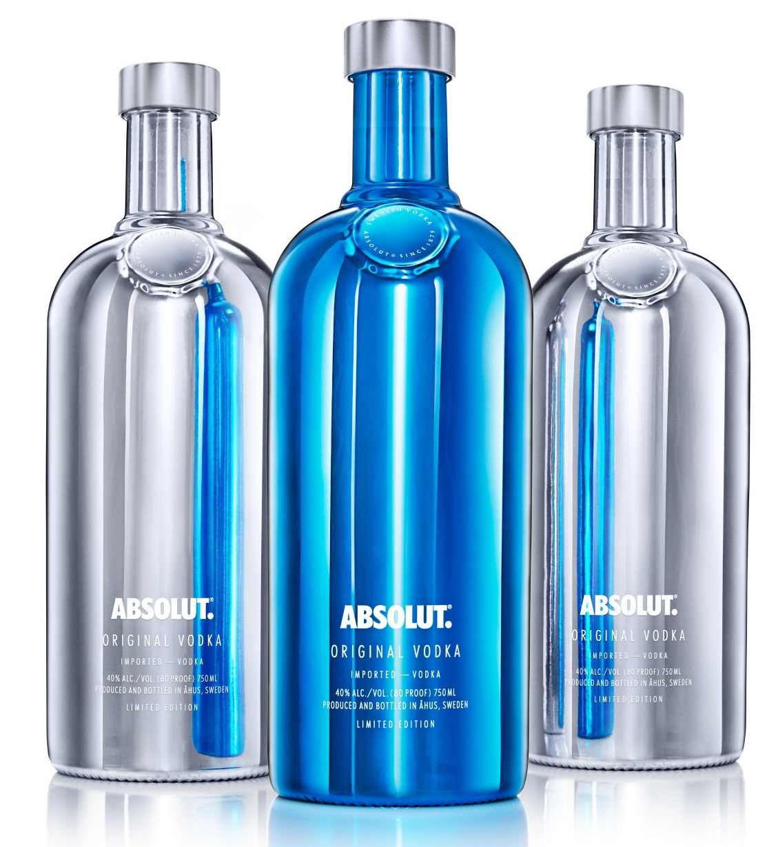 Pernod Ricard has released Absolut Electrik, the next in a series of end-of-year limited editions