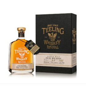 Teeling is celebrating the opening of its Dublin distillery with The Revival, a 15YO single malt commemorative bottling