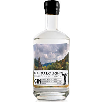 Glendalough's The Wild-Autumn Botanical gin contains botanicals foraged from the Wicklow Mountains