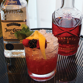 Trinh Quan Huy-Philip's Cinco de Mayo was named the winning cocktail in the 2015 Wenneker Swizzle Masters