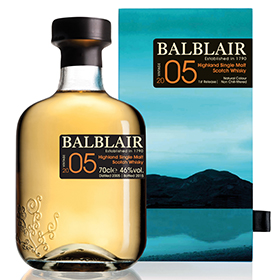 Balblair has released a new 2005 Vintage, replacing the 2003 expression
