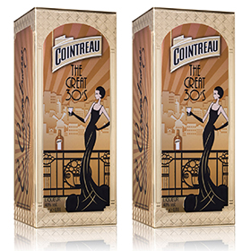 Cointreau limited edition pack The Great '30s is available in global travel retail now