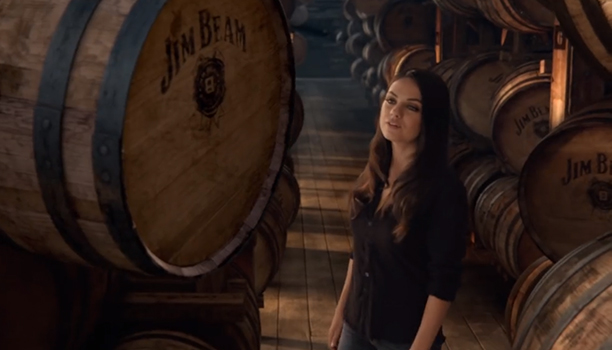 Mila Kunis stars in new Jim Beam TV advert