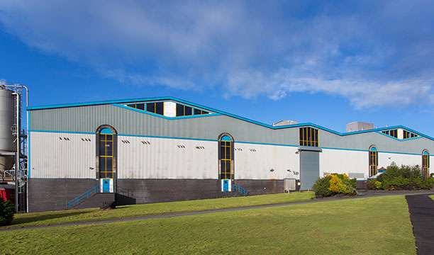 Ailsa Bay Distillery is based inside William Grant's Girvan complex