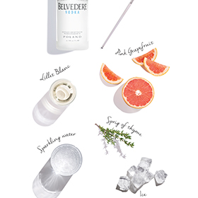 Belvedere is focusing in naturalness with its collection of spritzes