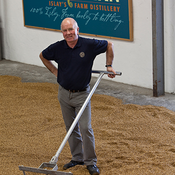 Kilchoman Distillery's John MacLellan has passed away