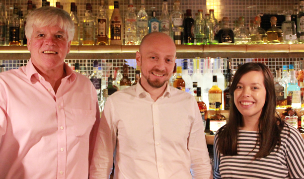Left to right: Nick Kingsman, Westerhall Rums; Ben Manchester, K Bar at The Kensington; and Melita Kiely, The Spirits Business